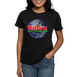 Relax Earth Women's Dark T-Shirt