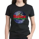 Relax Earth Women's Dark T-Shirt