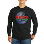 Relax Earth Long Sleeve Dark T-Shirt