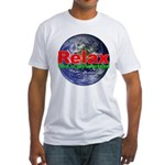 Relax Earth Fitted T-Shirt
