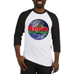 Relax Earth Baseball Jersey