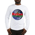 Relax Earth Long Sleeve T-Shirt
