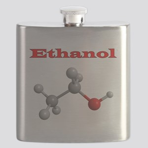 Ethanol Molecule Flask