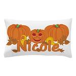 Halloween Pumpkin Nicole Pillow Case