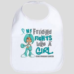 Fights Like a Girl 42.9 Ovarian Cancer Bib