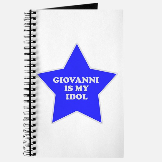 Giovanni Is My Idol Journal