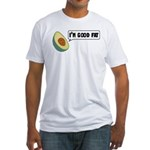 Avocado: Good Fat Fitted T-Shirt