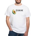 Avocado: Good Fat White T-Shirt