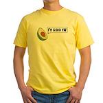 Avocado: Good Fat Yellow T-Shirt