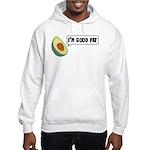 Avocado: Good Fat Hooded Sweatshirt