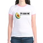 Avocado: Good Fat Jr. Ringer T-Shirt