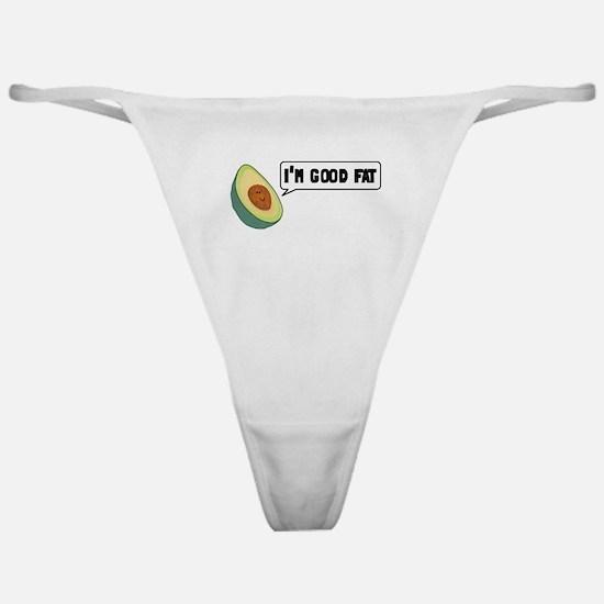 Avocado: Good Fat Classic Thong