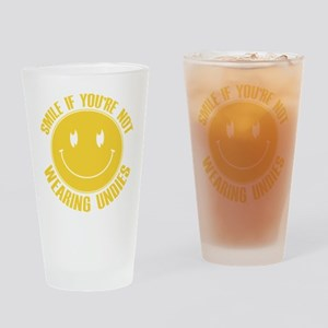 No Undies Drinking Glass