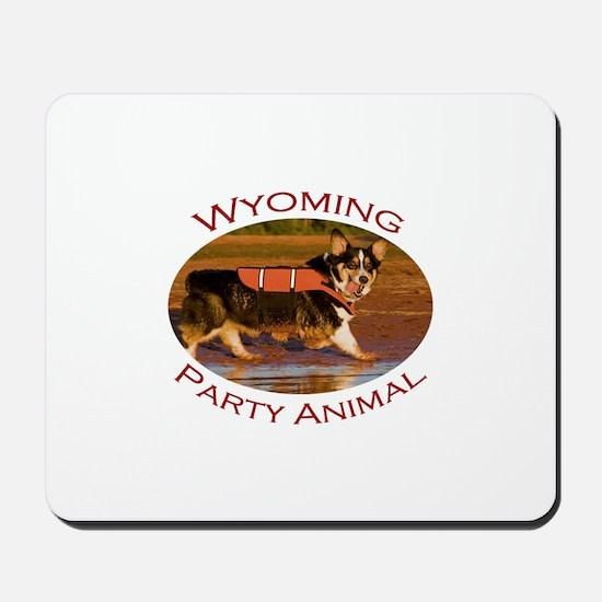 Wyoming Party Animal Mousepad
