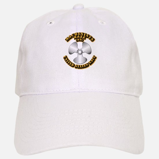 Navy - Rate - MM Baseball Baseball Cap