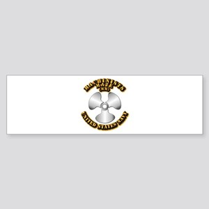 Navy - Rate - MM Sticker (Bumper)