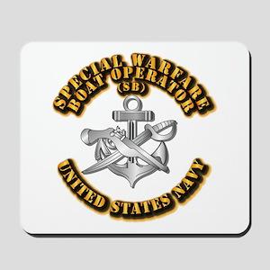 Navy - Rate - SB Mousepad