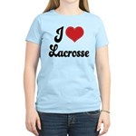 I Love Lacrosse Women's Light T-Shirt