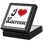 I Love Lacrosse Keepsake Box