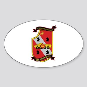 4th LAR Battalion Sticker (Oval)