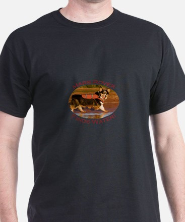 Mars Rover Finds Water T-Shirt