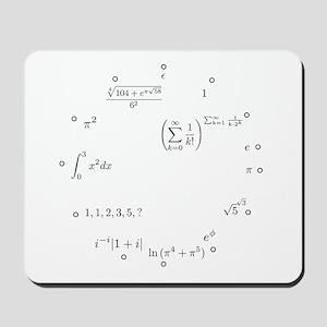 Almost integers Mousepad