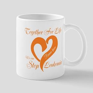 Personalize Leukemia Mug