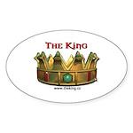 kingsm3 Sticker (Oval 10 pk)