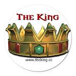 kingsm3 Round Car Magnet