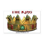 kingsm3 Rectangle Car Magnet