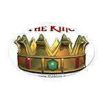 kingsm3 Oval Car Magnet