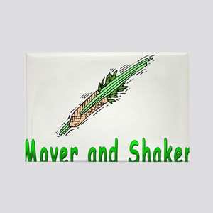 Jewish Mover and Shaker Rectangle Magnet