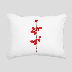 Depeche Mode Rose Rectangular Canvas Pillow
