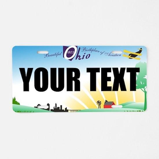 Ohio Aviation Custom License Plate