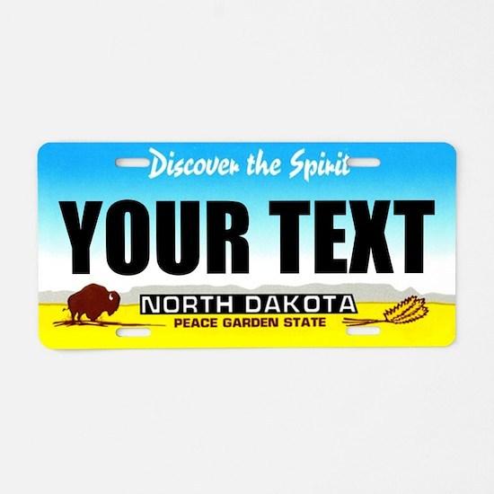 North Dakota Custom License Plate