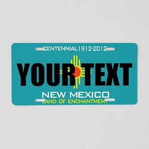 058c6ba311d New Mexico Aluminum License Plates - CafePress
