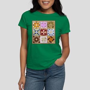 Harvest Moons Quilts Women's Dark T-Shirt