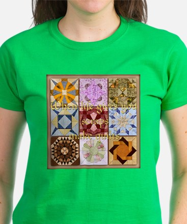 Harvest Moons Quilts Women's Dark T-Shirt