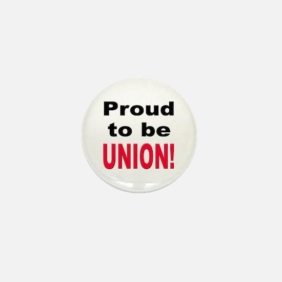 Proud Union Mini Button