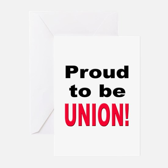Proud Union Greeting Cards (Pk of 10)