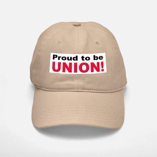 Proud Union Baseball Baseball Cap