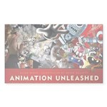 Animation Unleashed Explosive cover art Sticker (R