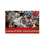 Animation Unleashed Rectangle Magnet