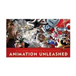 Animation Unleashed Explosive cover art 35x21 Wall