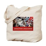 Animation Unleashed Explosive cover art Tote Bag