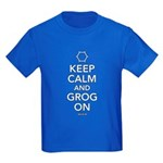 Keep Calm and Grog On Kids T in various colors