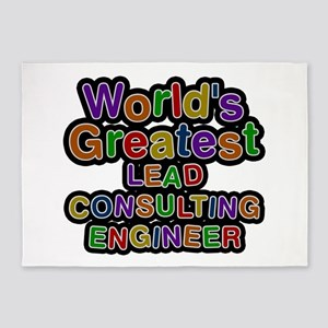 World's Greatest LEAD CONSULTING ENGINEER 5'x7' Ar