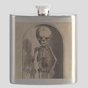 Skeletal Child Alcove Flask