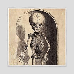Skeletal Child Alcove Queen Duvet