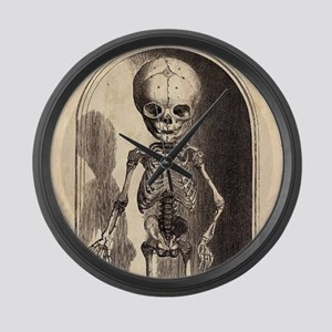 Skeletal Child Alcove Large Wall Clock